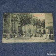 Postales: 11 - VENDRELL. FATXADA DE L'IGLESIA PARROQUIAL . CIRCULADA 14X9 CM.. Lote 213715163