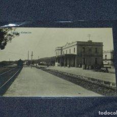 Postales: GAVÁ - ESTACION , POSTAL FOTOGRAFICA 14X9 CM. BUEN ESTADO. Lote 213767465