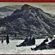 Cartoline: ANTIGUA POSTAL RIBAS (GERONA),7.PISTA CAMP RODÓ. FOTOGRAFO ROISIN.SIN CIRCULAR.. Lote 213897618