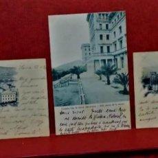 Postales: LOTE 3 ANTIGUAS POSTALES ESCUELAS PIAS DE SARRIÁ(BARCELONA).ENTRE 1900 A 1905.. Lote 213899070
