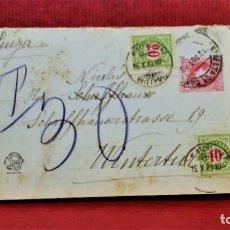 Postales: GRAN POSTAL TRÍPTICO BARCELONA.LAS ARENAS.AÑO 1903. FOTOTIPIA THOMAS. Lote 213930741