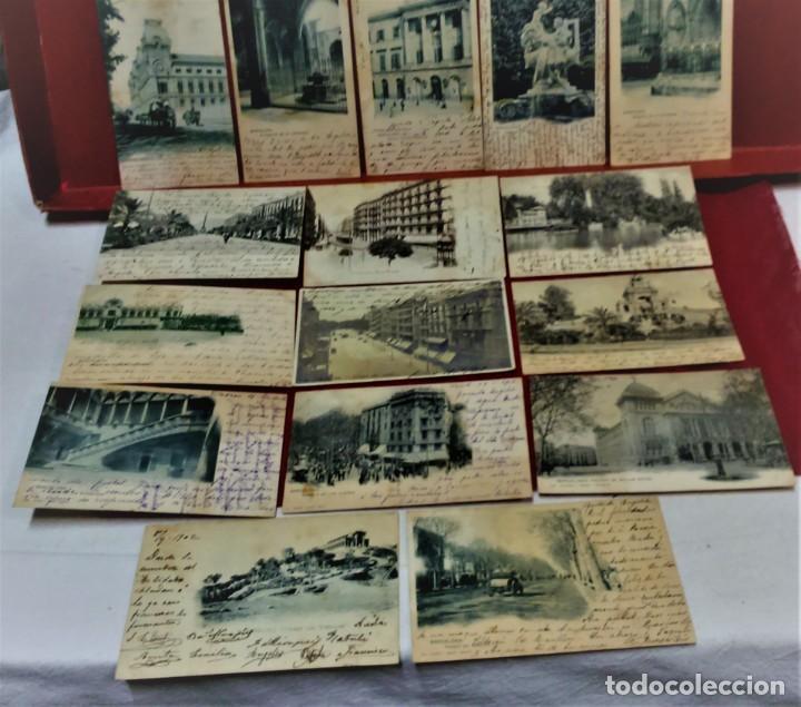 LOTE 16 POSTALES DE BARCELONA,INICIOS S. XX.VARIOS FOTOGRAFOS. (Postales - España - Cataluña Antigua (hasta 1939))