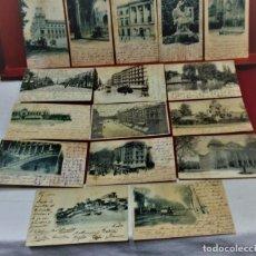 Postales: LOTE 16 POSTALES DE BARCELONA,INICIOS S. XX.VARIOS FOTOGRAFOS.. Lote 213930917