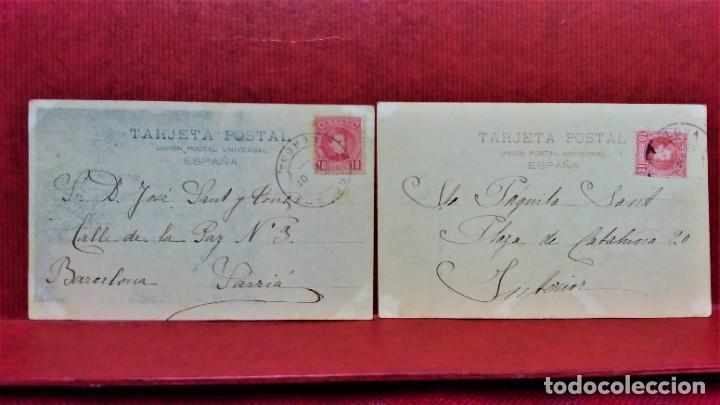 Postales: LOTE 16 POSTALES DE BARCELONA,INICIOS S. XX.VARIOS FOTOGRAFOS. - Foto 5 - 213930917