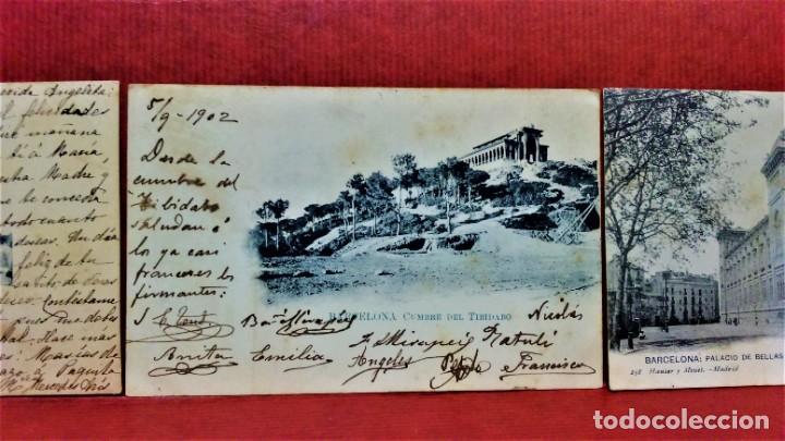 Postales: LOTE 16 POSTALES DE BARCELONA,INICIOS S. XX.VARIOS FOTOGRAFOS. - Foto 7 - 213930917