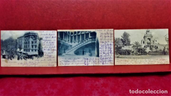 Postales: LOTE 16 POSTALES DE BARCELONA,INICIOS S. XX.VARIOS FOTOGRAFOS. - Foto 9 - 213930917