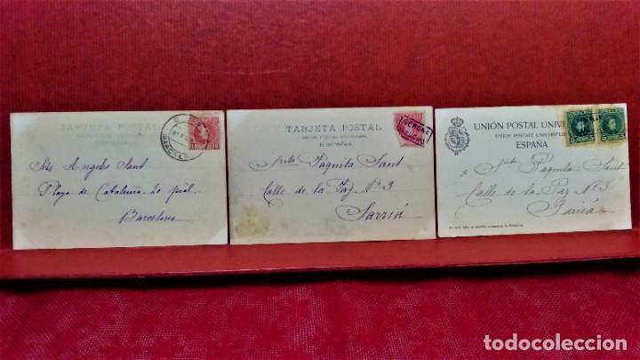 Postales: LOTE 16 POSTALES DE BARCELONA,INICIOS S. XX.VARIOS FOTOGRAFOS. - Foto 10 - 213930917