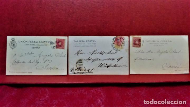 Postales: LOTE 16 POSTALES DE BARCELONA,INICIOS S. XX.VARIOS FOTOGRAFOS. - Foto 13 - 213930917