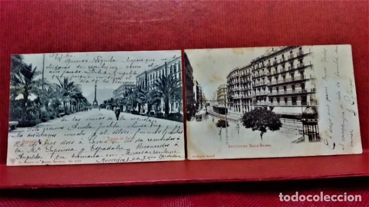 Postales: LOTE 16 POSTALES DE BARCELONA,INICIOS S. XX.VARIOS FOTOGRAFOS. - Foto 14 - 213930917