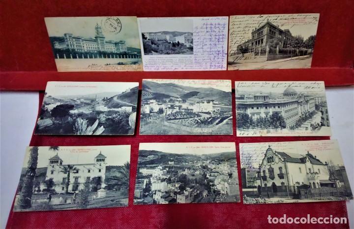 LOTE 9 POSTALES DE BARCELONA,PRINCIPIOS S XX.FOT.ANGEL TOLDRÁ Y OTROS. (Postales - España - Cataluña Antigua (hasta 1939))