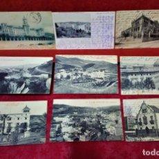 Postales: LOTE 9 POSTALES DE BARCELONA,PRINCIPIOS S XX.FOT.ANGEL TOLDRÁ Y OTROS.. Lote 213933595