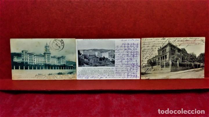 Postales: LOTE 9 POSTALES DE BARCELONA,PRINCIPIOS S XX.FOT.ANGEL TOLDRÁ Y OTROS. - Foto 2 - 213933595