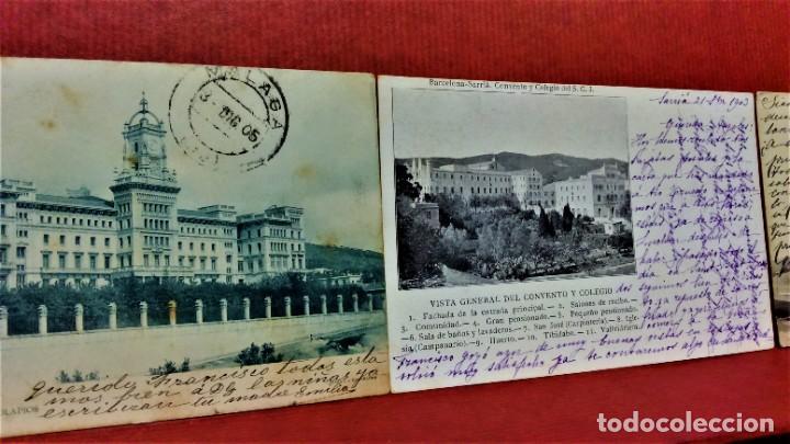 Postales: LOTE 9 POSTALES DE BARCELONA,PRINCIPIOS S XX.FOT.ANGEL TOLDRÁ Y OTROS. - Foto 3 - 213933595