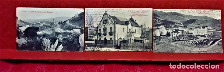 Postales: LOTE 9 POSTALES DE BARCELONA,PRINCIPIOS S XX.FOT.ANGEL TOLDRÁ Y OTROS. - Foto 5 - 213933595