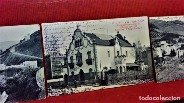 Postales: LOTE 9 POSTALES DE BARCELONA,PRINCIPIOS S XX.FOT.ANGEL TOLDRÁ Y OTROS. - Foto 6 - 213933595