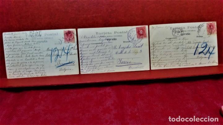 Postales: LOTE 9 POSTALES DE BARCELONA,PRINCIPIOS S XX.FOT.ANGEL TOLDRÁ Y OTROS. - Foto 7 - 213933595
