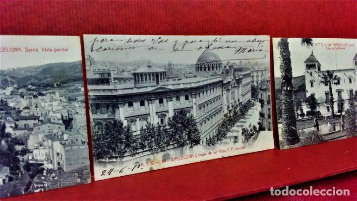 Postales: LOTE 9 POSTALES DE BARCELONA,PRINCIPIOS S XX.FOT.ANGEL TOLDRÁ Y OTROS. - Foto 9 - 213933595