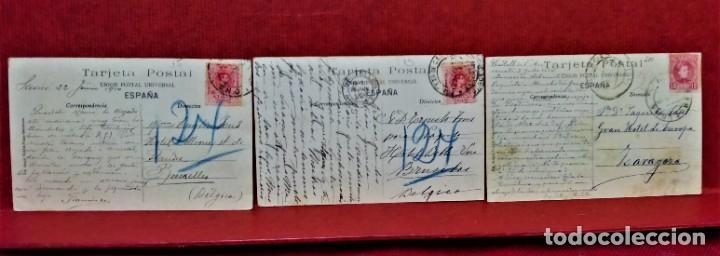 Postales: LOTE 9 POSTALES DE BARCELONA,PRINCIPIOS S XX.FOT.ANGEL TOLDRÁ Y OTROS. - Foto 10 - 213933595