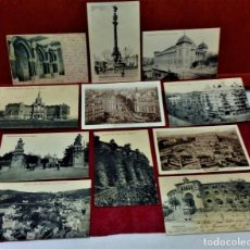 Postales: LOTE 11 POSTALES DE BARCELONA,PRINCIPIOS S XX. FOT.MISSÉ,ROISIN Y OTROS.. Lote 213934365