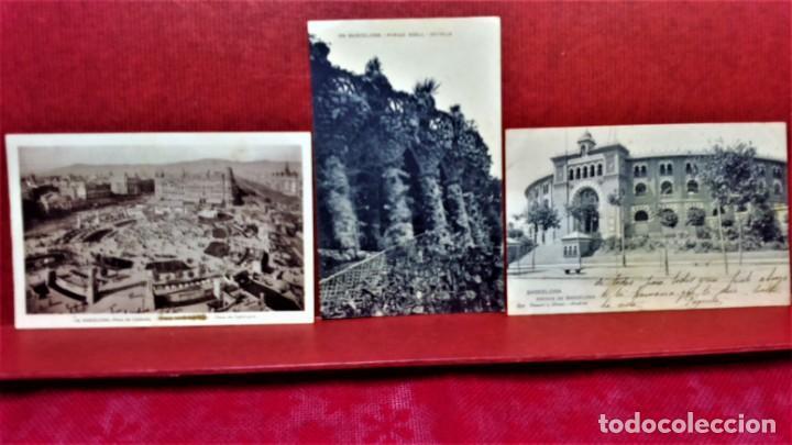 Postales: LOTE 11 POSTALES DE BARCELONA,PRINCIPIOS S XX. FOT.MISSÉ,ROISIN Y OTROS. - Foto 5 - 213934365