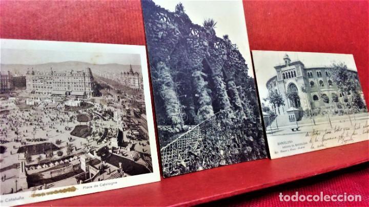 Postales: LOTE 11 POSTALES DE BARCELONA,PRINCIPIOS S XX. FOT.MISSÉ,ROISIN Y OTROS. - Foto 6 - 213934365
