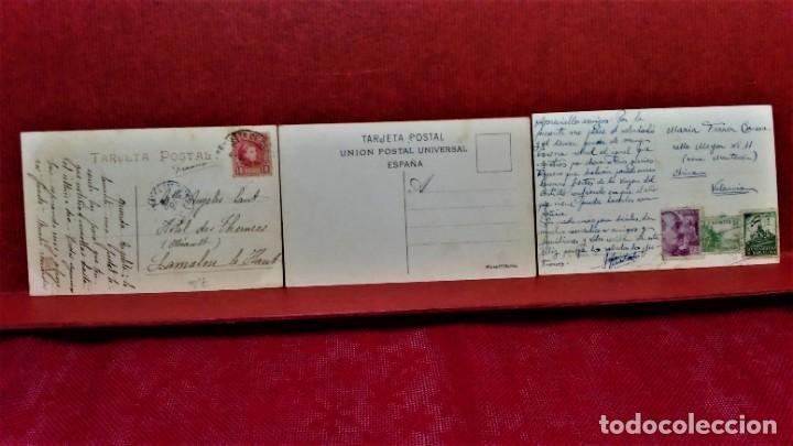 Postales: LOTE 11 POSTALES DE BARCELONA,PRINCIPIOS S XX. FOT.MISSÉ,ROISIN Y OTROS. - Foto 7 - 213934365