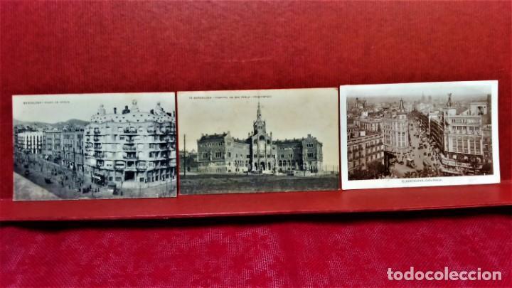 Postales: LOTE 11 POSTALES DE BARCELONA,PRINCIPIOS S XX. FOT.MISSÉ,ROISIN Y OTROS. - Foto 8 - 213934365