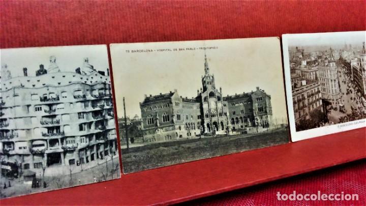 Postales: LOTE 11 POSTALES DE BARCELONA,PRINCIPIOS S XX. FOT.MISSÉ,ROISIN Y OTROS. - Foto 9 - 213934365