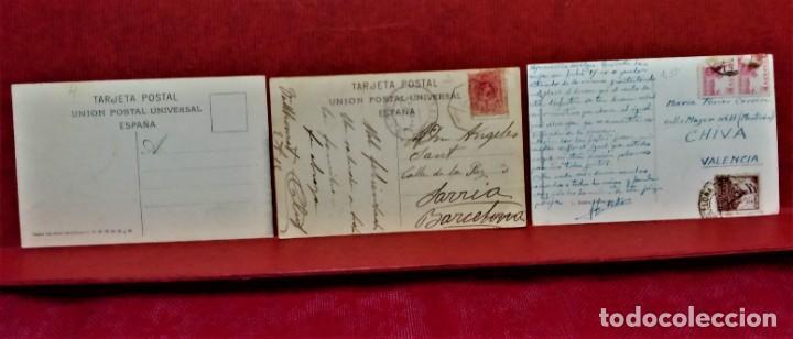 Postales: LOTE 11 POSTALES DE BARCELONA,PRINCIPIOS S XX. FOT.MISSÉ,ROISIN Y OTROS. - Foto 10 - 213934365