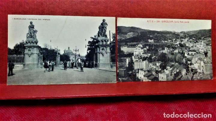 Postales: LOTE 11 POSTALES DE BARCELONA,PRINCIPIOS S XX. FOT.MISSÉ,ROISIN Y OTROS. - Foto 11 - 213934365