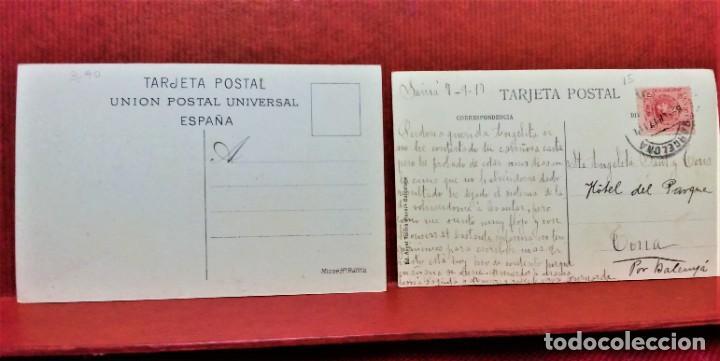 Postales: LOTE 11 POSTALES DE BARCELONA,PRINCIPIOS S XX. FOT.MISSÉ,ROISIN Y OTROS. - Foto 12 - 213934365