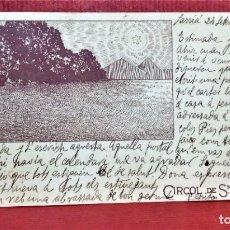Postales: POSTAL CIRCOL DE SN LLUCH,ILUSTRACIÓN DE A.RIQUER .AÑO 1903. Lote 213935141