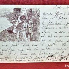 Postales: POSTAL CIRCOL DE SN LLUCH. AÑO 1903. Lote 213935307