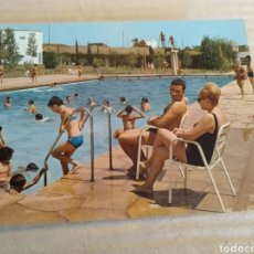 Postales: POSTAL DE TARRAGONA 1969. CASAL DE L'ESPLUGLA DE FRANCOLÍ. PISCINA GRANDE. SIN CIRCULAR. Lote 214048928