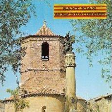 Postales: // E445 - POSTAL - SANT JOAN DE LES ABADESES - IGLESIA ROMANICA. Lote 214197317