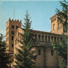 Postales: // E448 - POSTAL - RIPOLL - EXTERIOR DEL MONASTERIO DE SANTA MARIA. Lote 214197820