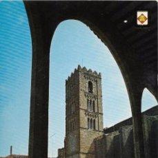 Postales: // E451 - POSTAL - CASTELLO DE AMPURIAS - TORRE CAMPANARIO DE LA IGLESIA. Lote 214198288