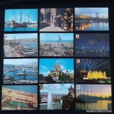 Postales: 94 POSTALES BARCELONA AÑOS 60-70 (P177). Lote 214288685