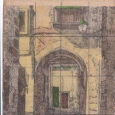 Postales: DOS POSTALES DE REUS ( TARRAGONA ) CALLEJON DE LOS JUDIOS. Lote 214429597