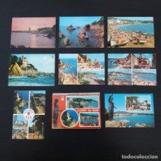 Postales: 8 POSTALES + LIBRITO LLORET DEL MAR (GIRONA) AÑOS 60-70 P342. Lote 214509107