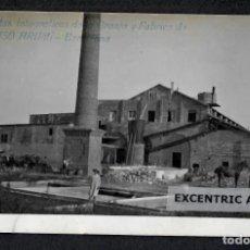 Postales: VISTAS FOTOGRAFICAS DE LA GRANJA Y FABRICA DE R. MASÓ ARUMÍ, Nº 16 - BARCELONA. Lote 214619972