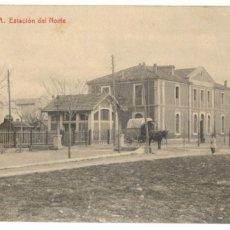 Postales: POSTAL DE CERVERA. ESTACIÓN DEL NORTE. THOMAS - SIN CIRCULAR.. Lote 214684477