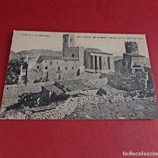 Postales: COSTA DEL GARRAF-BARCELONA- A PRINCIPIOS DE SIGLO-SIN CIRCULAR. Lote 214885220