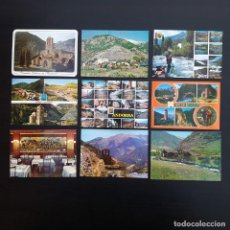 Postales: 23 POSTALES VALLS D'ANDORRA LES ESCALES, ANDORRA LA VELLA, ARINSAL MERITXELL ORDINO CANILLO P439. Lote 214942178