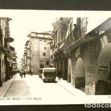 Postales: SEO DE URGEL (LLEIDA) CALLE MAYOR - NO CIRCULADA - ED. FOTO NURI (AÑOS 50) SEU D'URGELL. Lote 215228142