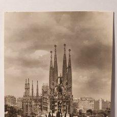 Cartes Postales: BARCELONA SERIE 2 N°5 / PLAZA DE LA SAGRADA FAMILIA/ SIN CIRCULAR/ (REF.D.69). Lote 215347732