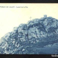 Postais: LA POBLA DE LILLET. *CASTELL DE LA VILA* ED. FONT MIR - THOMAS Nº 12. NUEVA.. Lote 12481980