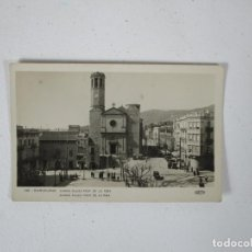 Postales: POSTAL BARCELONA - SARRIÁ PLAZA PRAT DE LA RIBA - GUILERA. Lote 215427336