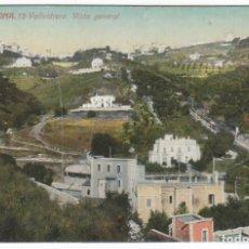 Postales: VALLVIDRERA BARCELONA POSTAL ESCRITA Y CON SELLO ARQUITECTO ALFREDO PALUZIE LUCENA OLOT 1917 PT. Lote 215560453