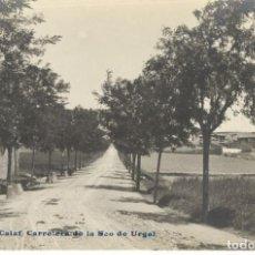 Postales: POSTAL FOTOGRAFICA - CALAF- CARRETERA DE LA SEO DE URGEL - VDA P. Nº 1 - SIN CIRCULAR.. Lote 215941213